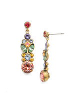 Sorrelli Bohemian Bright Crystal Earrings~EEA4AGBHB