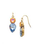 Sorrelli Bohemian Bright Crystal Earrings~EDH62AGBHB