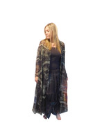 Luna Luz Silk Organza Duster~Chocolate  Cloud Wash