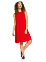 Edge Sleeveless  Trapeze Dress  by Sympli~L7800R