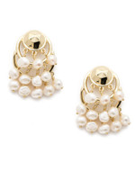 Sorrelli Polished Pearl Earrings~EEC14BGPLP