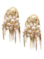 Sorrelli Polished Pearl Earrings~EEC2BGPLP
