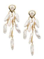 Sorrelli Polished Pearl Earrings~EEC21BGPLP