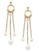 Sorrelli Polished Pearl Earrings~EEC22BGCRY