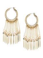 Sorrelli Polished Pearl Earrings~EEC8BGPLP