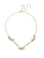 Sorrelli Polished Pearl Necklace~NEC5BGPLP