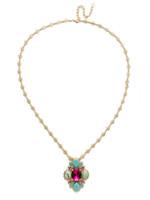 Sorrelli Candy  Pop  Necklace~NEE29BGCPO