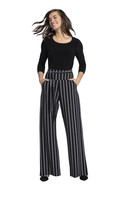 Wide Leg Trouser Stripe by  Sympli~27195CB~IS