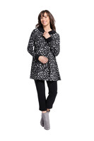 On The Dot Swing Coat by  Sympli~K7521D~IS