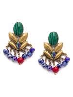 Sorrelli Game of Jewel Tones Viserion Crystal Drop Earrings~EEF11AGGOT