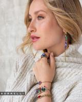 Sorrelli Game of Jewel Tones Skylar Crystal Drop Earrings~EEF55AGGOT