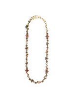 SORRELLI ANDALUSIA CRYSTAL NECKLACE~ NBL12AGAND