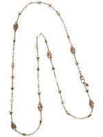 **SPECIAL ORDER**SORRELLI RAW SUGAR CRYSTAL NECKLACE~ NBN122AGRSU