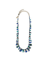 Sorrelli Electric Blue Crystal Necklace~ NAX8ASEB