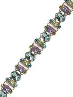 Sorrelli Running Water Crystal Bracelet ~BCG19ASRW