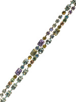 Sorrelli Running Water Crystal Bracelet ~BCC1ASRW