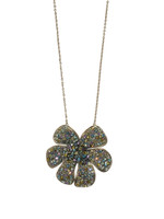Sorrelli Running Water Crystal Necklace ~NCG15ASRW