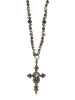 Sorrelli Running Water Crystal Necklace~ NBN22ASRW