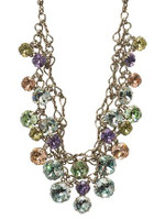 Sorrelli Running Water Crystal Necklace ~NCF23ASRW