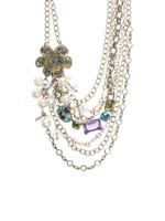 Sorrelli Running Water Swarovski Crystal Necklace~NCG58ASRW