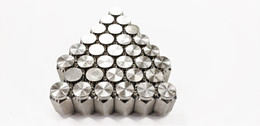 Thirty Two (32) Pack Solid 304 Stainless Steel 1/2-20 Lug Nuts For Trailer Wheel