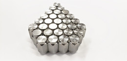Thirty (30) Pack Solid 304 Stainless Steel 1/2-20 Lug Nuts For Trailer Wheel
