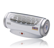 Hairsetter with 20 Flocked Rollers Wax Core & IONIC TECHNOLOGY