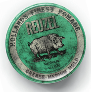 Reuzel Green Pomade-Grease-12oz. HOG