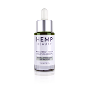 Hemp Beauty 1oz 250 MG CBD Oil Drops Wellness & Relax Natural Flavor 1oz/30mL