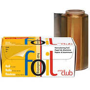 "Product Club Smooth Roll Foil (5"" x 250') Gold"
