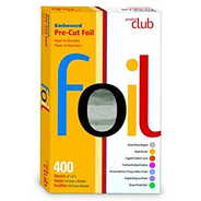 "Product Club Embossed Bre-Cut Foil 400 (5"" x 8"") Silver"