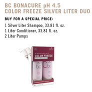 BC Color Freeze SILVER Liter Duo