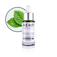 Hemp Beauty 250 MG CBD Mint Oil Drops Wellness & Relax 1oz/30mL