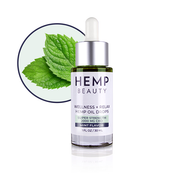 Hemp Beauty 1oz 2000 MG CBD Mint Oil Drops Wellness & Relax 1oz/30mL