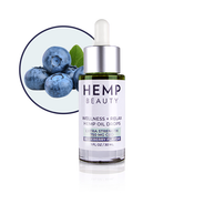Hemp Beauty 1oz 750 MG CBD Blueberry Oil Drops Wellness & Relax 1oz/30mL