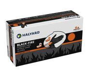 HALYARD ( XL) BLACK POWDER FREE NITRILE EXAM GLOVES