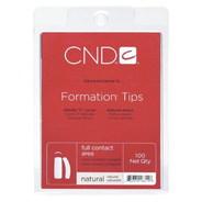 Cnd Formation Tips Natural 100 Tray