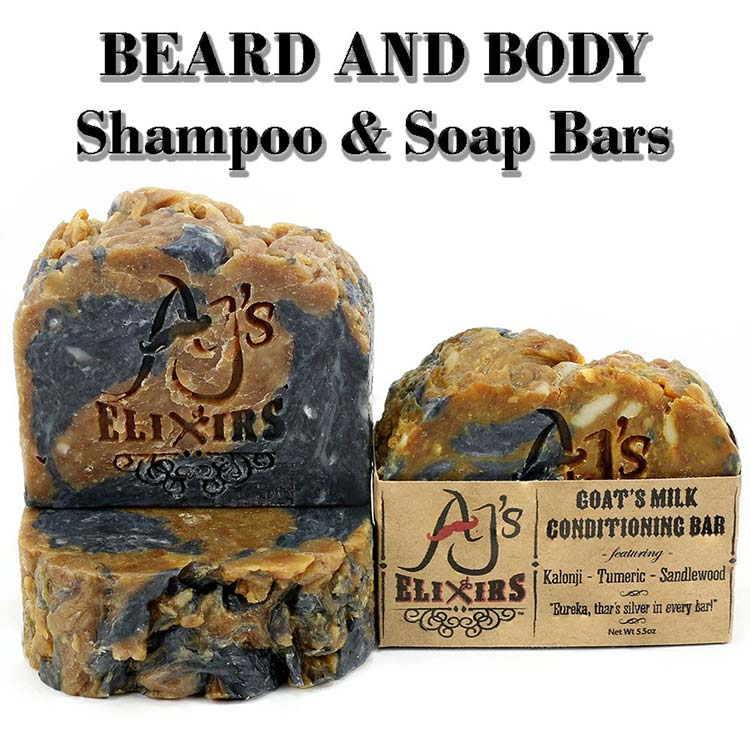 Beard Wash and Beard Soap Bars are built to assist even the most problematic skin and hair.