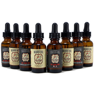 AJ's Elixirs Beard Oil grab bag. This Beard Oil combination kit gives you flexibility in choosing your scent each day!