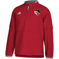 Braintree Bandits AAU Adidas Mens Red Fielders Choice 2.0 Convertible Jacket