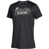 Braintree Bandits AAU Adidas Youth Black Clima Tech Tee