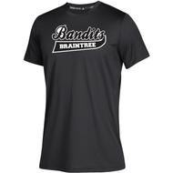Braintree Bandits AAU Adidas Mens Black Clima Tech Tee
