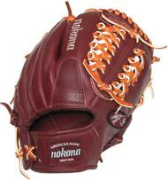 Nokona BL-1150M Bloodline Maroon Baseball Glove 11.50 inch RARE