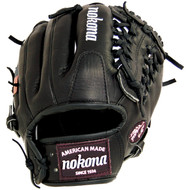 Nokona BL-1150M Bloodline Black Baseball Glove 11.50 inch