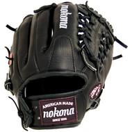 Nokona BL-1150M Bloodline Black Baseball Glove 11.50 inch RARE