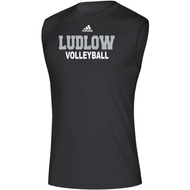 Ludlow Adidas Team Climalite WRDS SL Tee - Volleyball