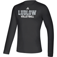 Ludlow Adidas Team Climalite LS WRDS Tee - Volleyball