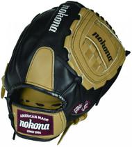 Nokona BL-1200C Bloodline Black/Sandstone Baseball Glove 12 inch RARE