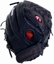 Nokona BS-1350C Buckaroo Black Fastpitch Softball Glove 13 inch