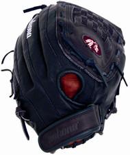 Nokona BS-1350C Buckaroo Black Fastpitch Softball Glove 13 inch